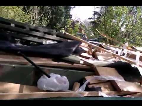 Cedar Scraps & Newel Posts-1.3gp