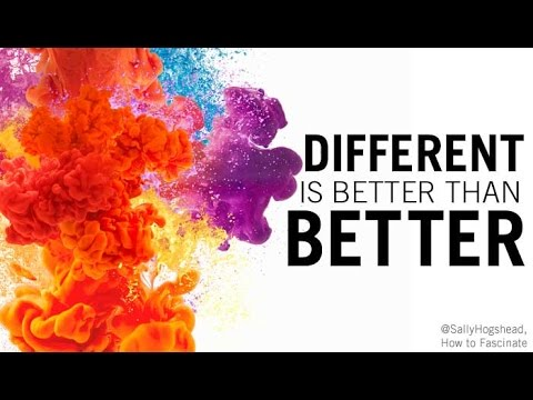 Friday Focus Ep: 76 /Why Different Is Better Than Better