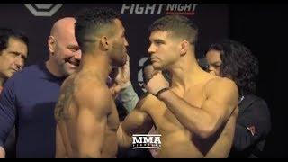 UFC on FOX 31: Kevin Lee vs. Al Iaquinta Weigh-In Staredown - MMA Fighting