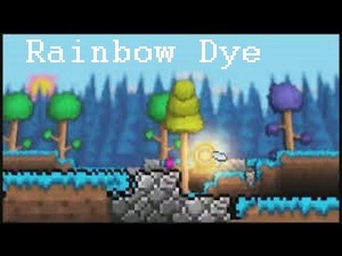 terraria how to get rainbow dye