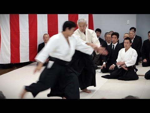 Aikido Doshu Moriteru Ueshiba Demonstration - Aikikai Kagamibiraki 2017
