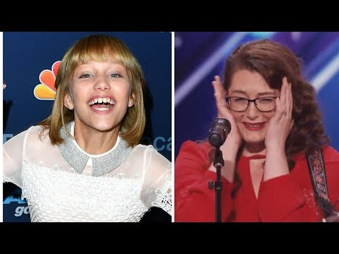 Grace VanderWaal Gushes Over Deaf AGT Singer Mandy Harvey | Hollywire