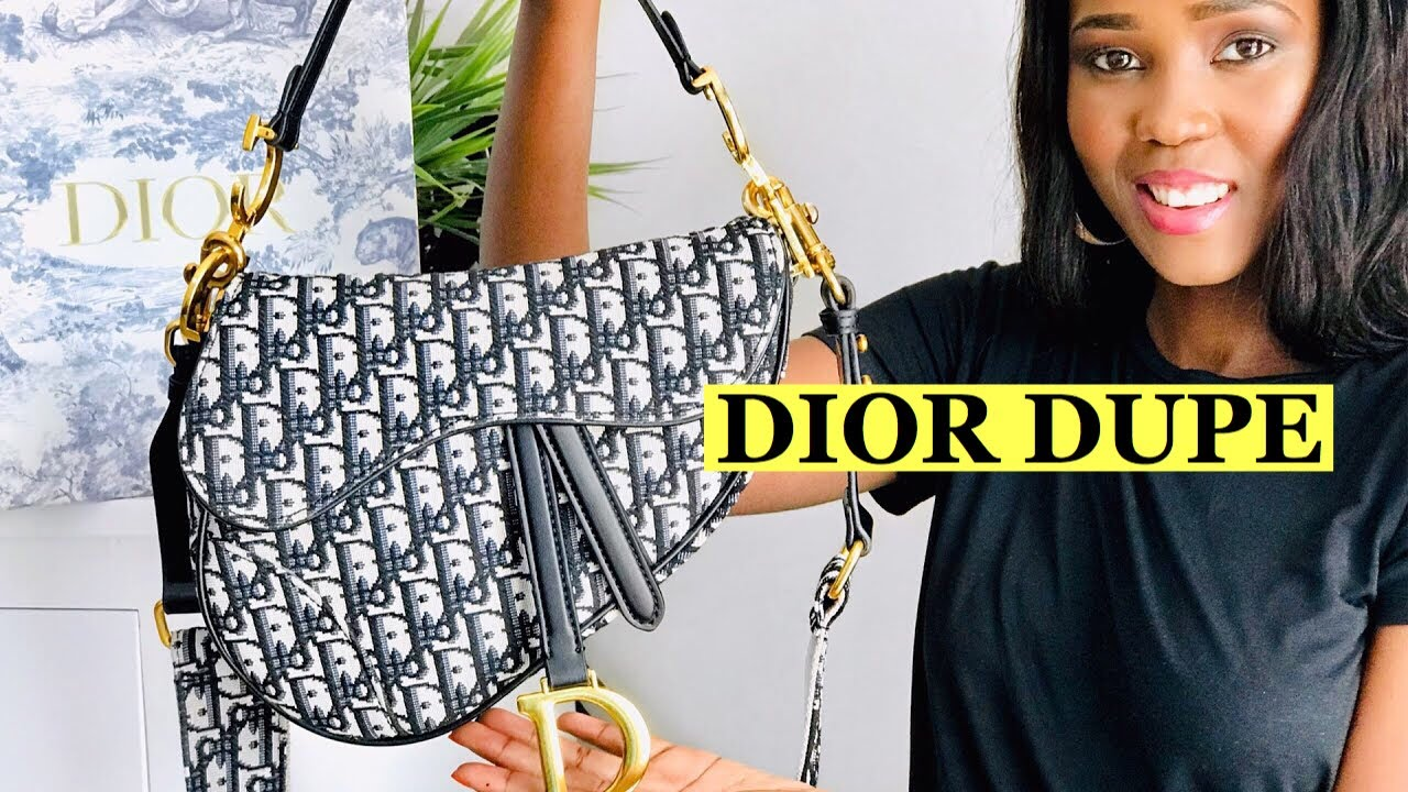 BOUJEE ON A BUDGET | DIOR SADDLE BAG REVIEW |DESIGNER LUXURY *ALIEXPRESS HAUL*