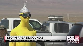 Organizers plan for Area 51 events