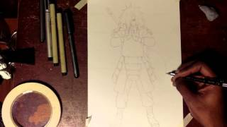 How to Draw Madara Uchiha