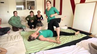 Repeat youtube video 5 Element Thai Massage Training with Sarahpeutics