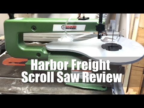 Harbor Freight Scroll Saw Review 2019 Budget Friendly Tools