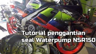 Tutorial Ganti Seal Water pump NSR 150