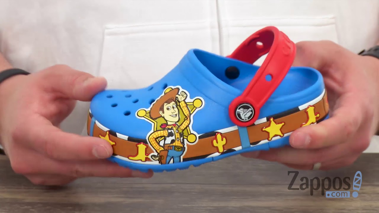 a398b0aa1df663 Crocs Kids Crocband Fun Lab Woody Lights Clog (Toddler Little Kid) SKU   8990043