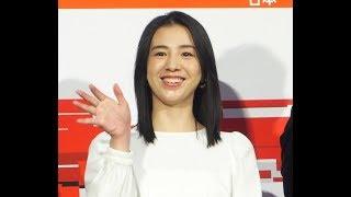 女優の桜庭ななみが19日、東京・渋谷のNHKで行われた新たな中国語サービ...