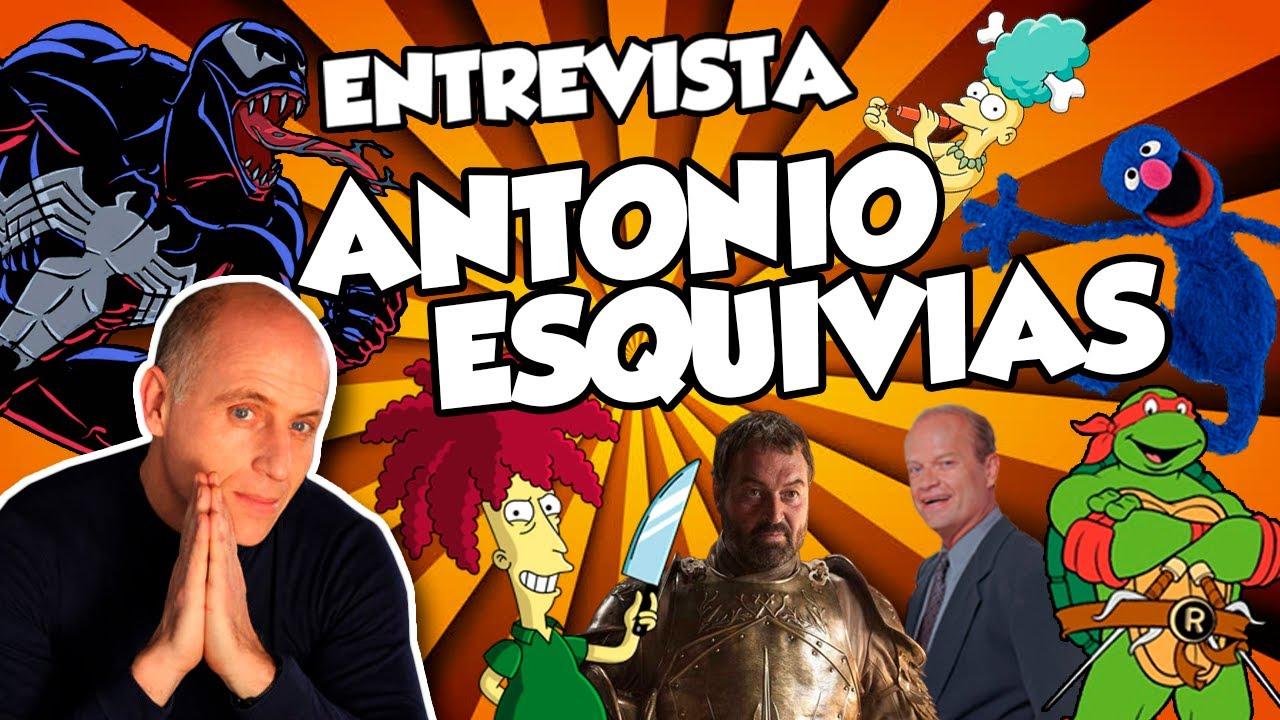 ENTREVISTA A ANTONIO ESQUIVIAS 🎙️   Actor Secundario Bob x Coco x Frasier
