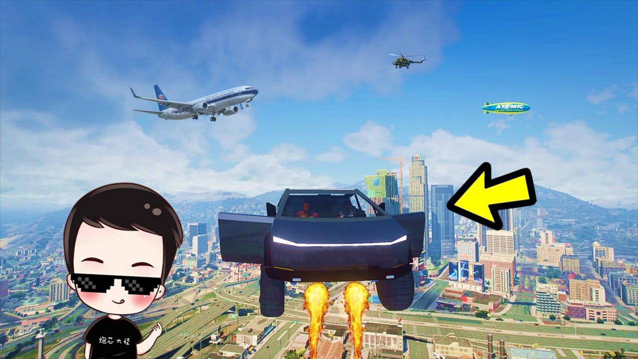 特斯拉皮卡变火箭,乘客在车上吓哭了!哈哈哈