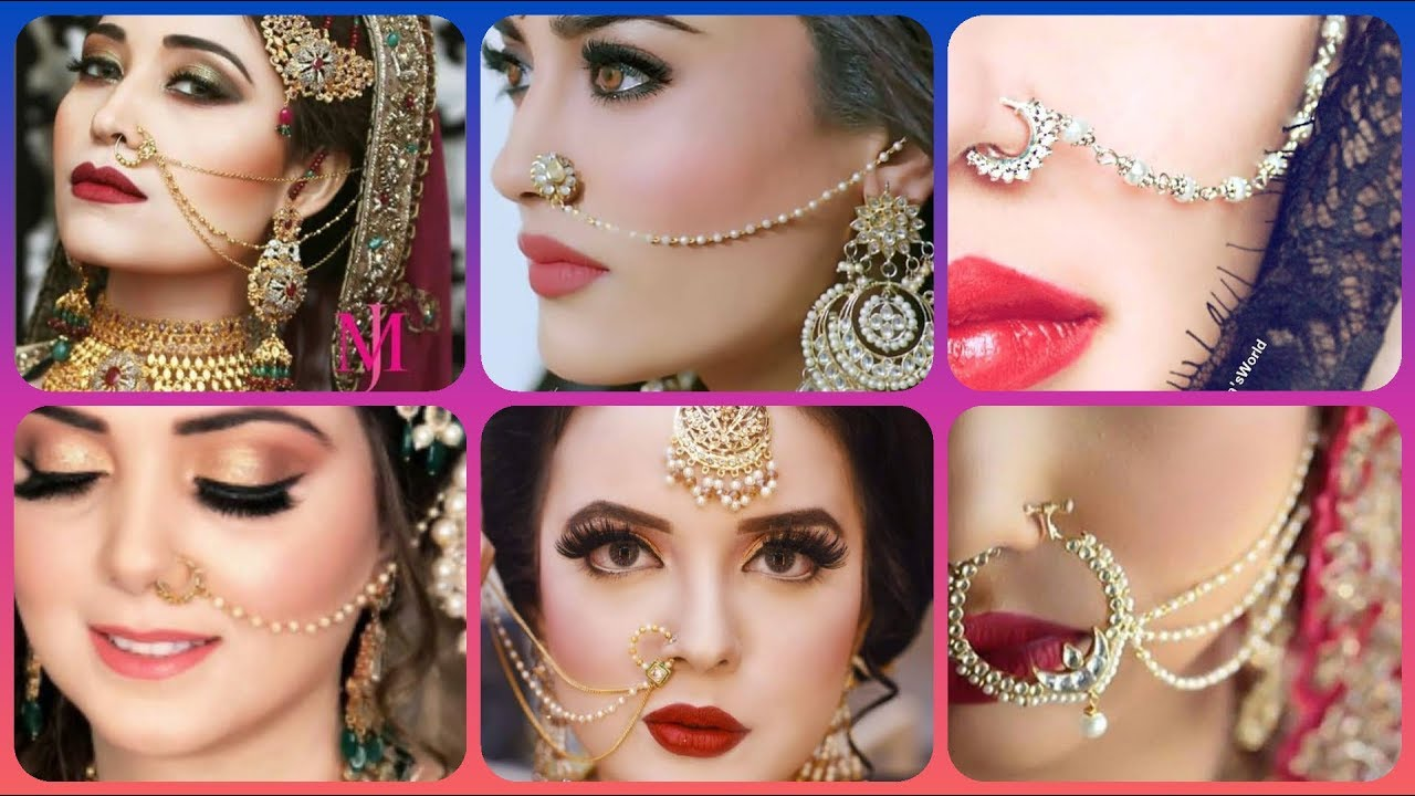 Most Trending Fashion Nose Pins Rings Types Nath Rings Type Studs