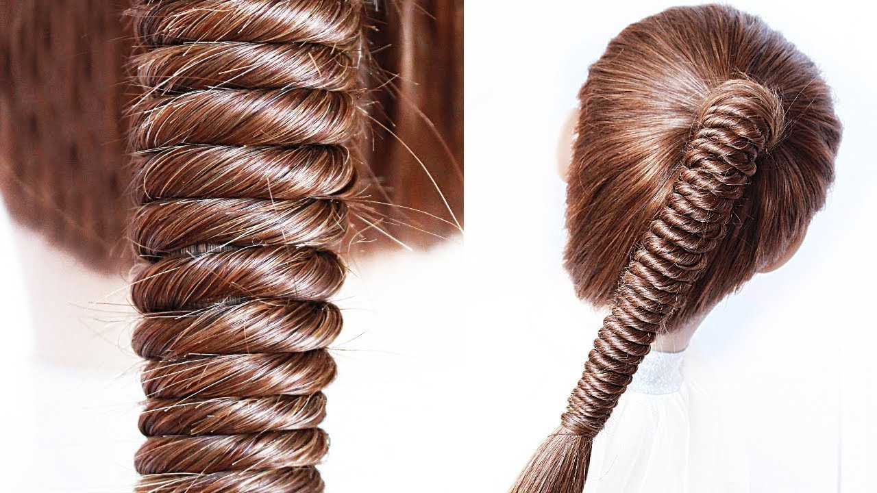 😱Rope Twist EASY PONYTAIL 😍 perfect for long, medium & shoulder length hair by Another Braid #shorts