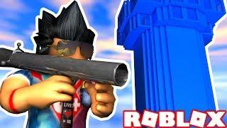 DESTROYING ENEMY TOWERS in ROBLOX! -Doomspire Brickbattle