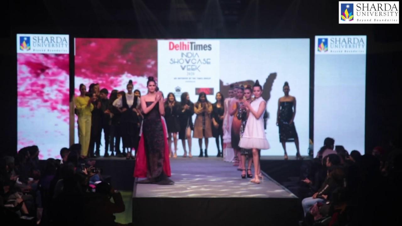 Sharda University Students Delhi Times India Showcase Week Youtube