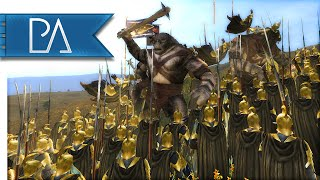 OUTNUMBERED LAST STAND - Third Age Total War Gameplay