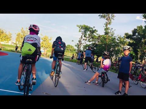 เปิดแล้ว📍สนามปั่นจักรยาน 1.5 km. Speacilized Bianchi Cannondale Skylane Thailand สนามเจริญสุขมงคลจิต