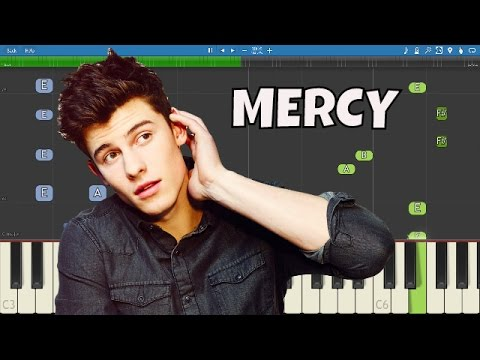 Shawn Mendes - Mercy - Piano Tutorial