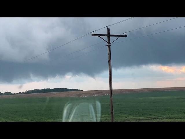 Tornado Warning 9/9/2019 Tornado Caught On Video!