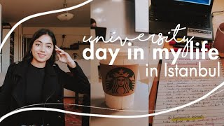 University Day In My Life In Istanbul; International Student In Turkey | Aroof N