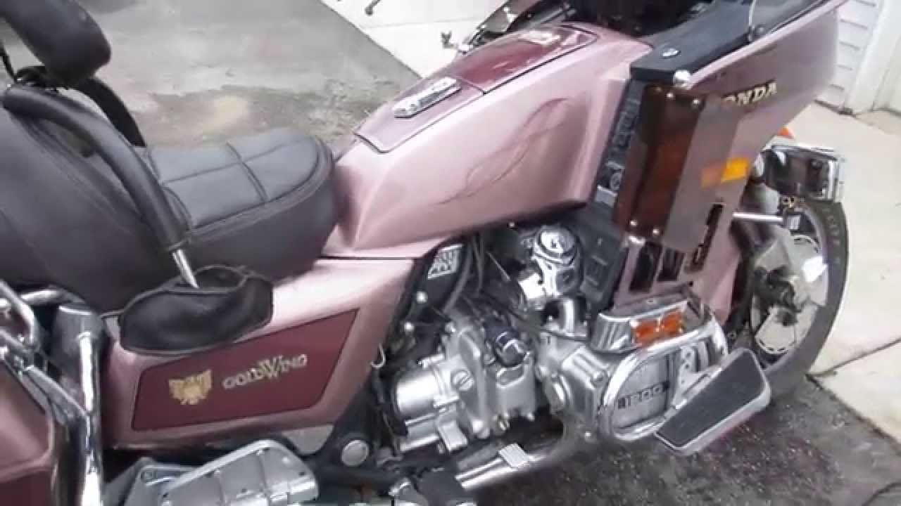 1986 86 HONDA GL1200 1200 GOLD WING ASPENCADE FOR SALE, PARTING OUT ONLY,  NOT WHOLE MACHINE!   YouTube