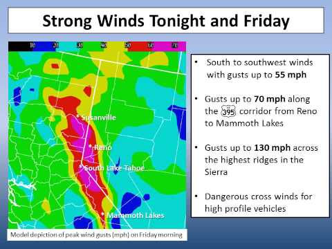 NWS Reno - Nov. 29, 2012 - Morning Winter Storm Briefing