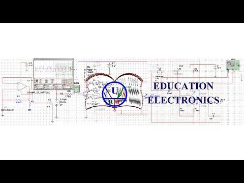 Lecture 8 Electronics.Education. OpAmp. Электроника.Операционный усилитель.