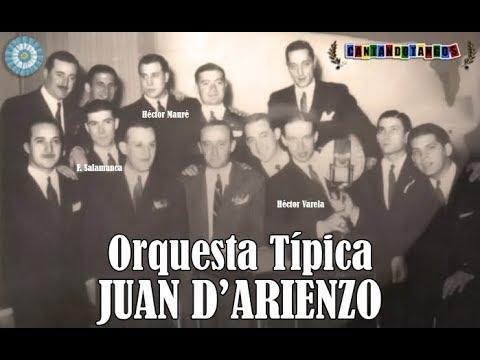 JUAN D'ARIENZO - HECTOR MAURE - AMARRAS - TANGO - 1944