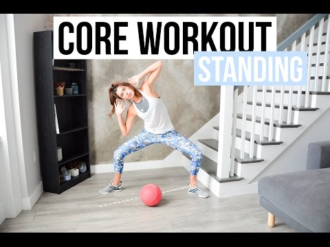 20-Minute Core Workout - Standing Ab Exercises
