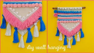 DIY Wall hanging/wall decor/home decor/hanging wall art /tassel hanging