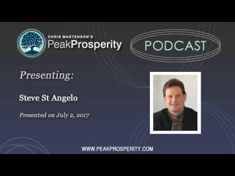 Peak Oil: Steve St. Angelo: Prepare For Asset Price Declines Of 50-75%