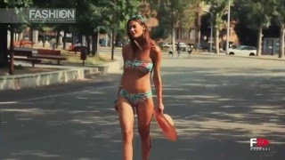 BIKINI IN THE CITY Verdissima Beachwear Backstage SS 2015 by Fashion Channel