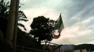 Sfaranda Processione Madonna al Centro 01 09 2013arrivo sotto il gazebo vespri