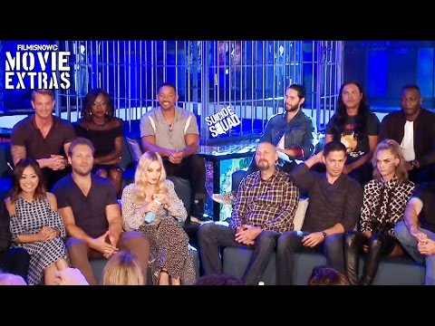 Suicide Squad complete press conference with cast, director and producers