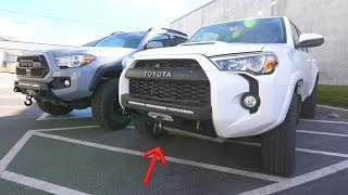 4Runner Low-Profile Off Road Bumper - How To Install C4Fab!