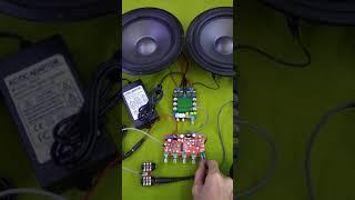 Test mạch Echo Karaoke PT2399 dùng nguồn 12VDC cho loa kéo (ZALO: 0935.677.678 hoặc 079.57.59.585)