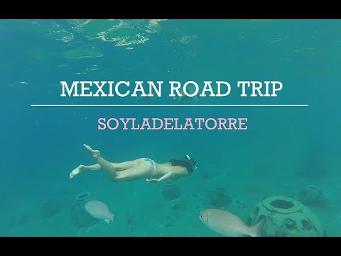 My Mexican Road trip | YUCATAN | MEXICO ~  travel vlog  🍉