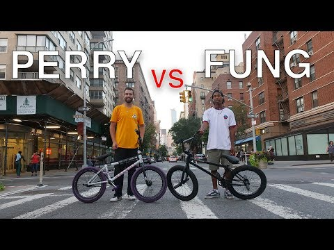 Street BMX Game Of BIKE: Billy Perry VS Stephon Fung (NYC)