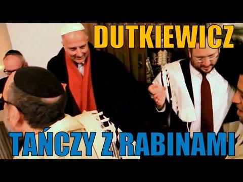 Dutkiewicz tańczy z rabinami