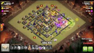Clash Of Clans : 3* en queenwalk + boulistes en HDV 11