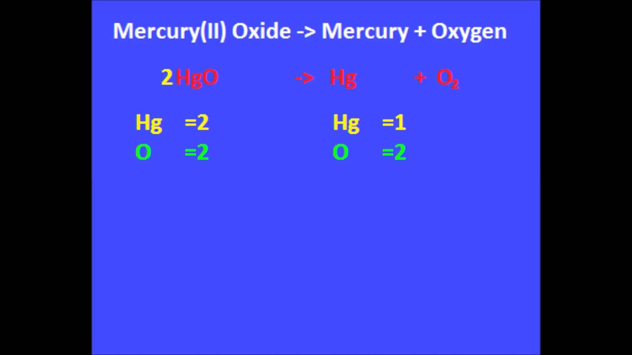 006 mercury ii oxide mercury oxygen youtube buycottarizona Image collections