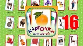 Учебные Карточки (Домана) для детей №16 - Автомобили. Части машин
