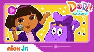 Dora's Concert W/ Backpack! Sing & Play A Dora The Explorer Video Game W/ Paw Patrol!   Nick Jr.