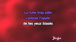 Karaoké La complainte de la butte - Cora Vaucaire *