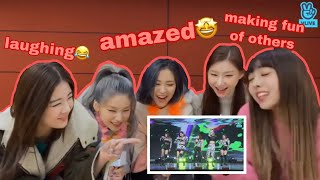 """Download lagu ITZY (있지 ) REACT TO THEIR """"WANNABE"""" LIVE PREMIERE PERFORMANCE"""