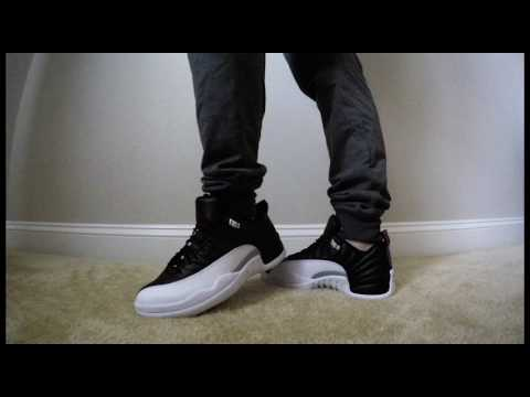 c9938caca356 Air Jordan 12 Playoff Low Review   On Feet - YouTube