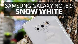 Mở hộp Samsung Galaxy Note 9 màu trắng Snow White: giá xách tay 16 triệu, trắng thuần khiết