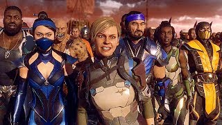 Raiden's Army Vs Kronika's Army Final Battle Fight Scene - Mortal Kombat 11