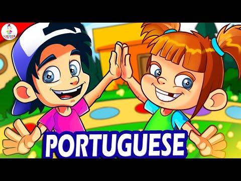 Learn PORTUGUESE | Brazilian Portuguese | Portuguese for Kids | Portuguese Language | Kid's Videos